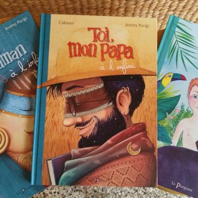 grands livres jeunesse éditions La Pimpante