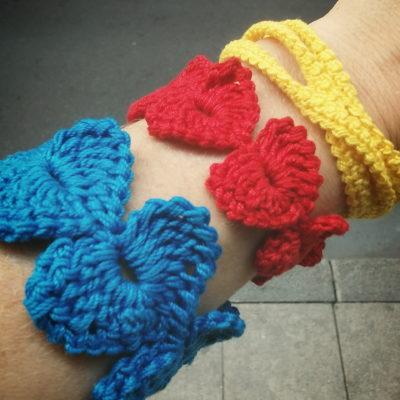 bracelets crochet Créer C Vivre
