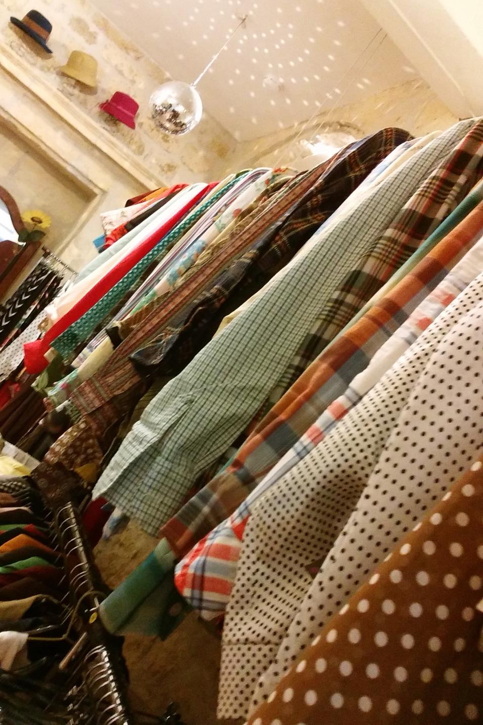 collection de chemises