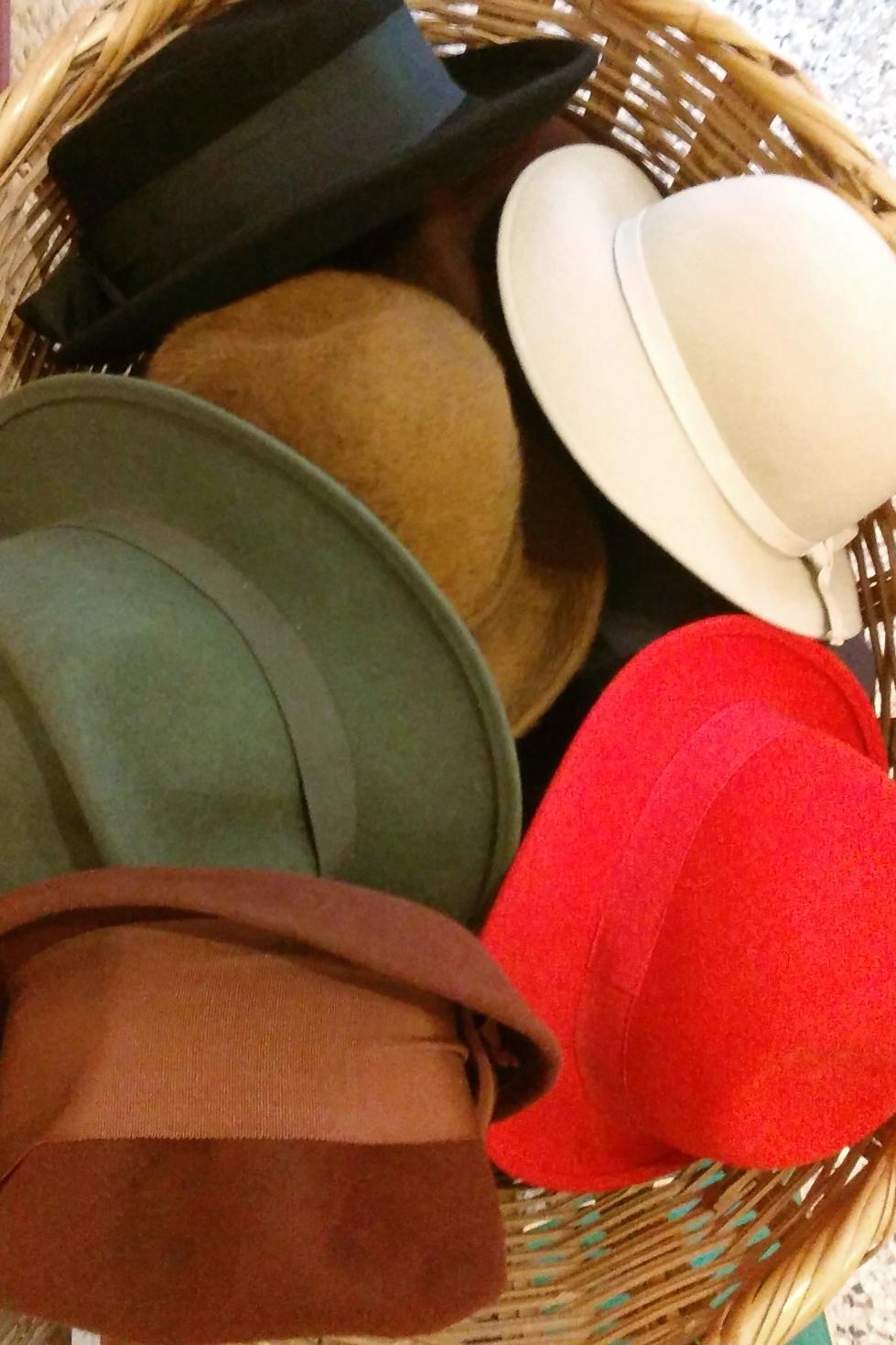 chapeaux feutre fripe