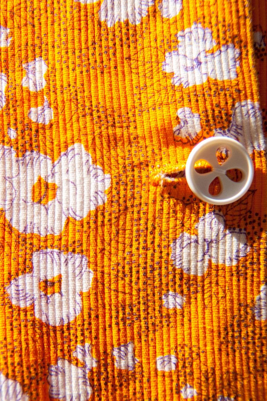 imprimé vintage orange