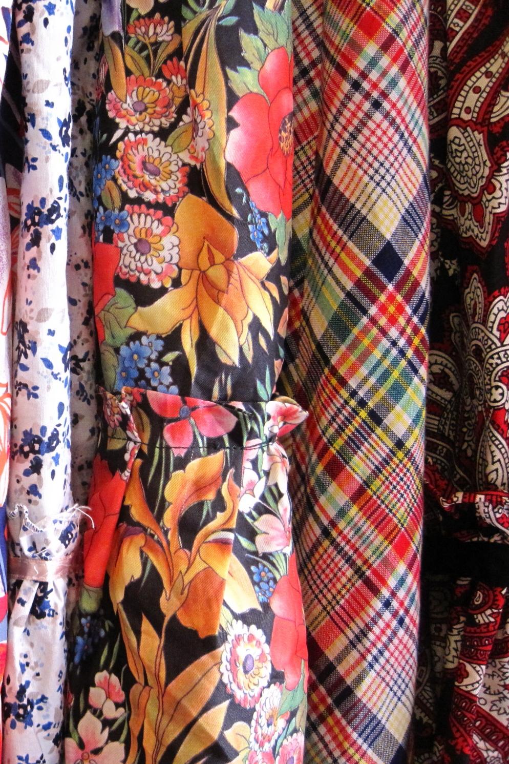 détail maxi-jupes vintage